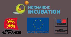 Soutien de Francofil Co-financements Région de Normandie Union Européenne Ministère de l'Enseigement Supérieur de la Recherche et de l'Innovation Normandie Incubation